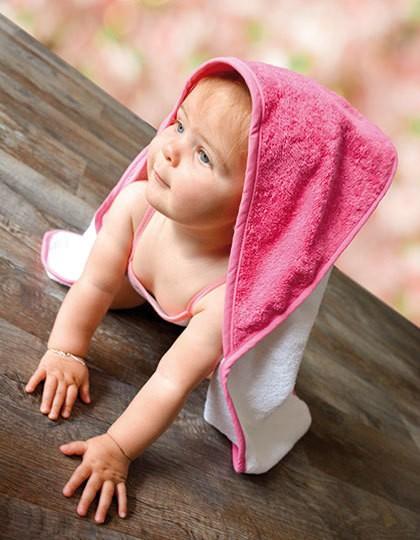 Babiezz® Hooded Towel - Kinderbekleidung - Baby Lätzchen & Mützen - A&R Aqua Blue - Lime Green - Lime Green