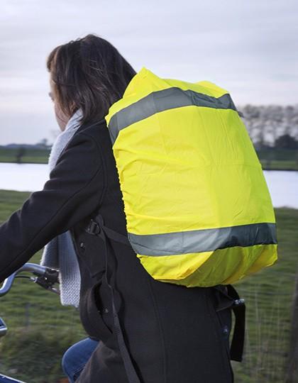 High-Vis-Überzug für Rucksack - Sicherheitsbekleidung - Sicherheitsjacken & -Hosen - Printwear Yellow