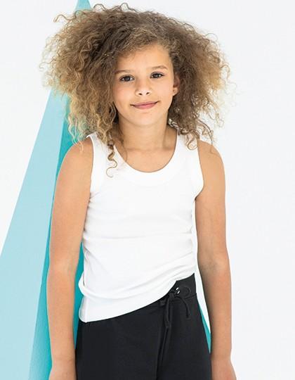 Kids` Tank Vest - Kinderbekleidung - Kinder T-Shirts - SF Minni Black