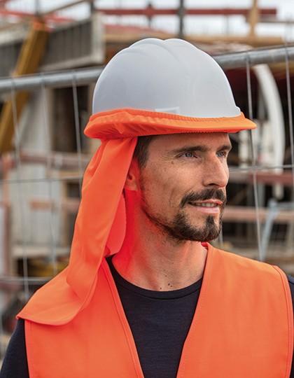 UV-Protection for Helmet -Cap - Korntex Signal Orange