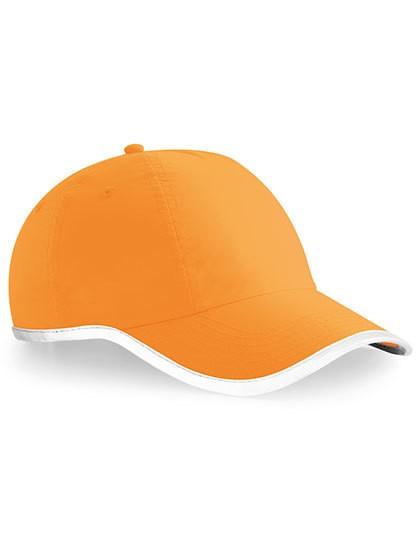 Enhanced-Viz Cap - Caps - 6-Panel-Caps - Beechfield Fluorescent Orange