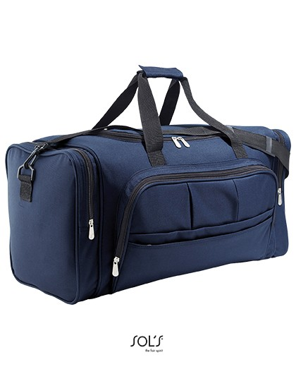 Travel Bag Weekend - Freizeittaschen - Sport- & Reisetaschen - SOL´S Bags Black