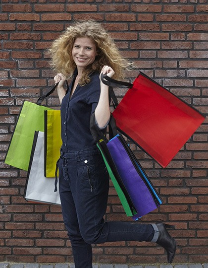 Shopping Bag Zürich - Baumwoll- & PP-Taschen - Jute-Taschen - Printwear Cobalt Blue
