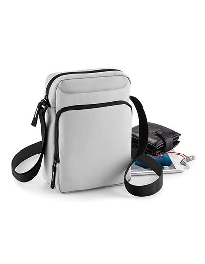 Cross Body Bag - Freizeittaschen - Freizeit-Umhängetaschen - BagBase Black
