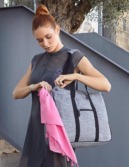 Shopping Bag - Fifth Avenue - Freizeittaschen - Einkaufstaschen - Bags2GO Grey Melange