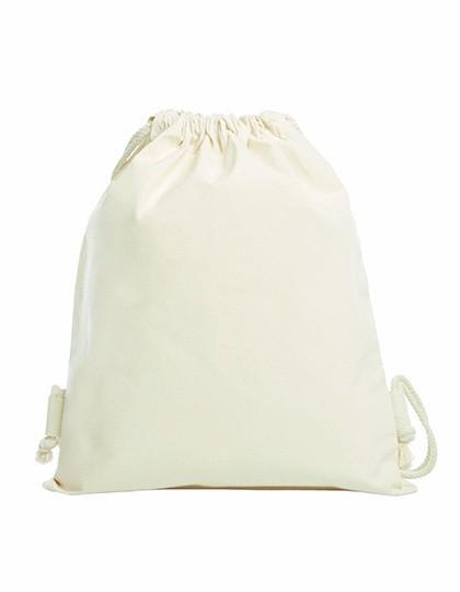 Drawstring Bag Organic - Baumwoll- & PP-Taschen - Baumwolltaschen - Halfar Natural