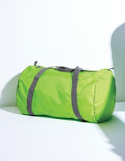 Packaway Barrel Bag - Freizeittaschen - Sport- & Reisetaschen - BagBase Black