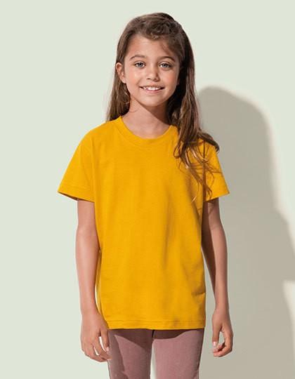 Jamie Organic Kids T-Shirt - Kinderbekleidung - Kinder T-Shirts - Stedman® Black Opal