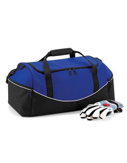 Teamwear Holdall - Freizeittaschen - Sport- & Reisetaschen - Quadra Black - Graphite Grey