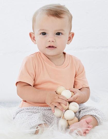 Baby Triblend Short Sleeve Tee - Kinderbekleidung - Baby Shirts & Hosen - Canvas Blue Triblend (Heather)