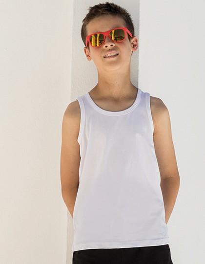 Kids` Feel Good Stretch Vest - SF Minni Black
