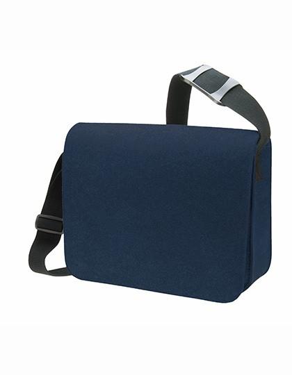 Courier Bag Modernclassic - Freizeittaschen - Freizeit-Umhängetaschen - Halfar Anthracite