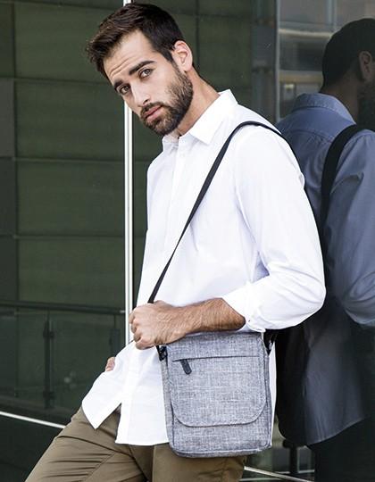 Small Carry Bag - Ohio - Bags2GO Grey Melange