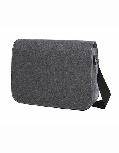 Shoulder Bag ModernClassic - Freizeittaschen - Freizeit-Umhängetaschen - Halfar Anthracite