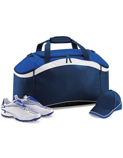 Teamwear Holdall - Freizeittaschen - Sport- & Reisetaschen - BagBase Black - Classic Red - White