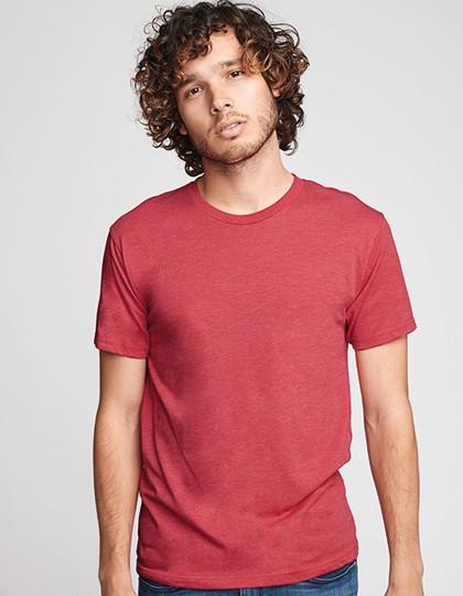 Men`s Tri-Blend T-Shirt - Next Level Apparel Vintage Black (Tri-Blend)