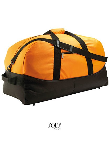 Travel Bag Stadium 65 - Freizeittaschen - Sport- & Reisetaschen - SOL´S Bags Black