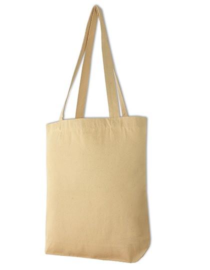 Canvas Carrier Bag Long Handle - Halink Black