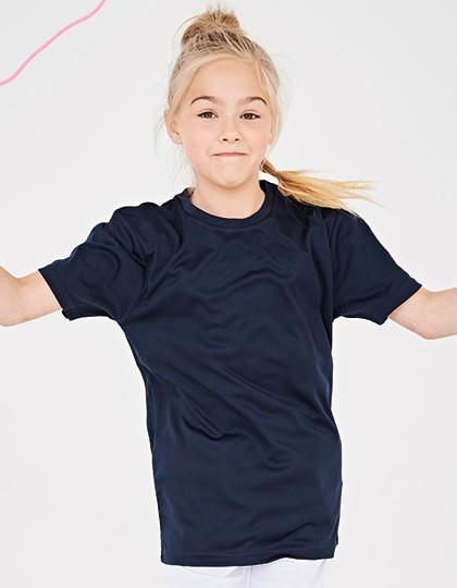 Kids` Cool Smooth T - Sports & Activity - Kinder Sportbekleidung - Just Cool Jet Black