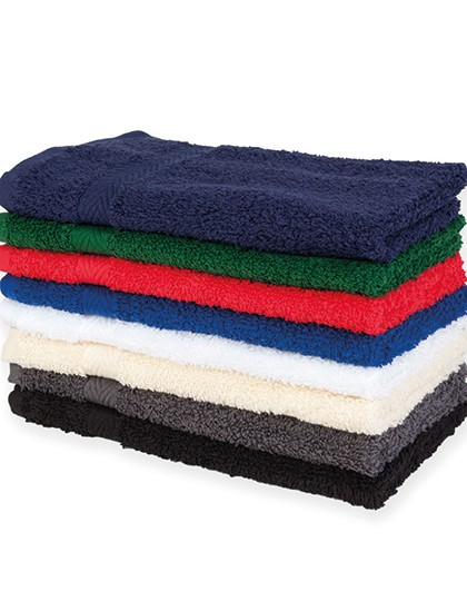 Luxury Guest Towel - Frottierwaren - Handtücher - Towel City Black
