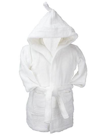 Boyzz&Girlzz® SUBLI-Me® All Over Bathrobe Hoded - A&R White