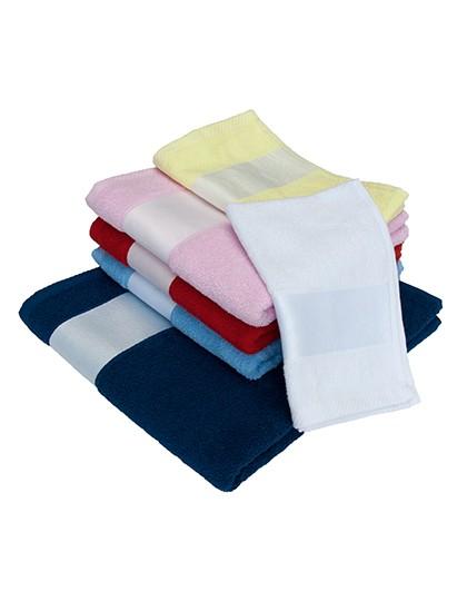Sublim Hand Towel - Sublimationstextilien - Sonstiges - Bear Dream Baby Blue (Light Blue)