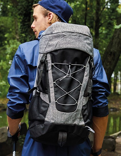 Outdoor Backpack - Yellowstone - Rucksäcke - Freizeit-Rucksäcke - Bags2GO Grey Melange