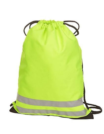 Drawstring Bag Reflex - Rucksäcke - Freizeit-Rucksäcke - Halfar Neon Yellow
