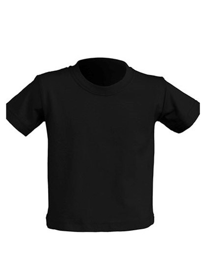 Baby T-Shirt - Kinderbekleidung - Baby Shirts & Hosen - JHK Black