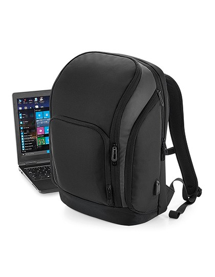 Pro-Tech Charge Backpack - Quadra Black