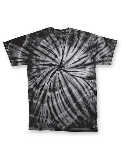 Cyclone Youth T-Shirt - Kinderbekleidung - Kinder T-Shirts - Dyenomite Black Cyclone