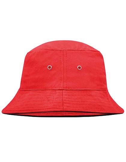 Fisherman Piping Hat - Caps - Hüte - Myrtle beach Black - Black