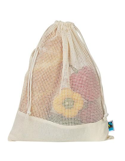 Vegetable Mesh Bag - Printwear Natural