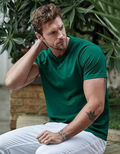 Sof Tee - Basic T-Shirts - Rundhals - Tee Jays Azure