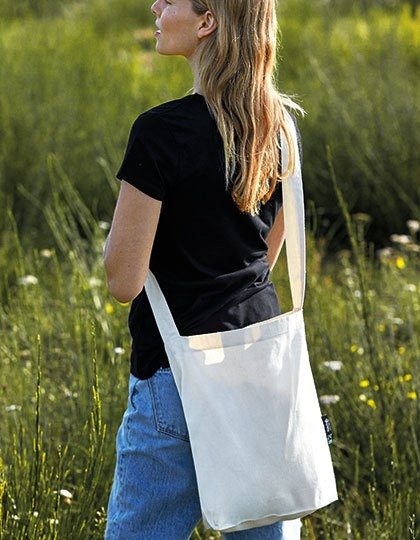 Twill Sling Bag - Neutral Black