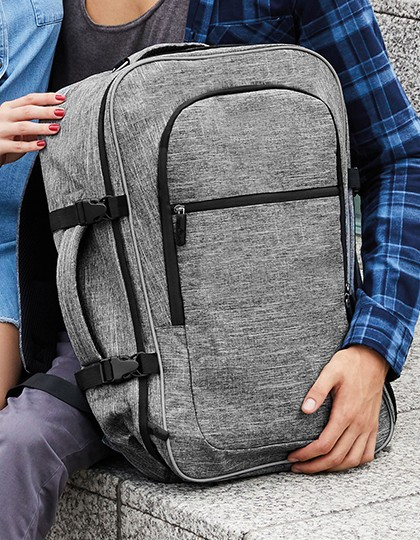 XXL Backpack - Denver - Rucksäcke - Freizeit-Rucksäcke - Bags2GO Grey Melange