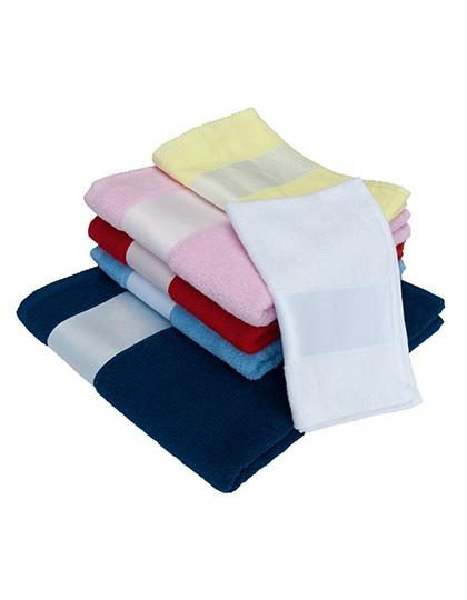 Sublim Guest Towel - Sublimationstextilien - Sonstiges - Bear Dream Baby Blue (Light Blue)