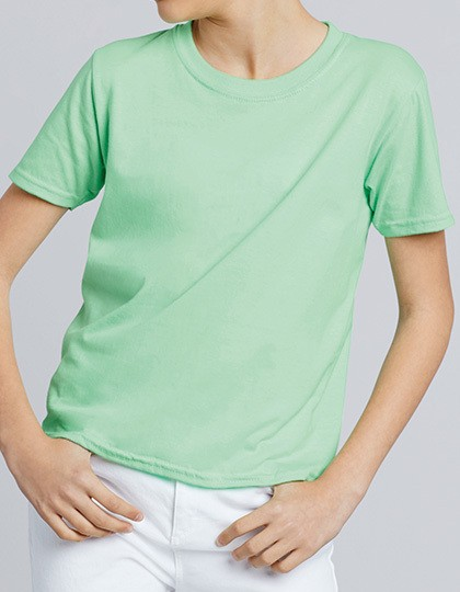 Softstyle® Youth T-Shirt - Kinderbekleidung - Kinder T-Shirts - Gildan Black