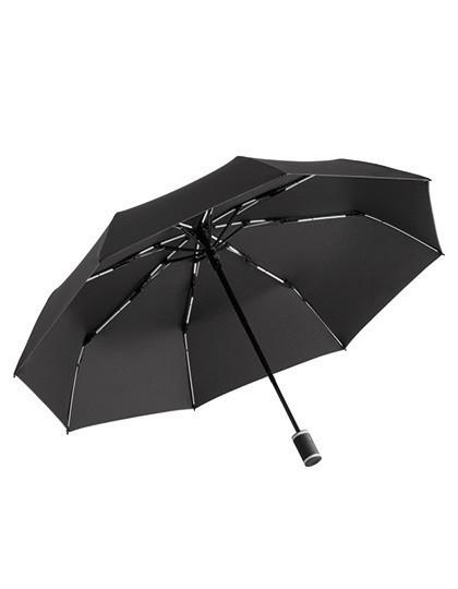 Taschenschirm FARE®-AOC-Mini Style - FARE Black - Euro Blue