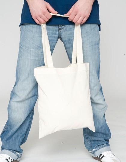 Baumwolltasche, lange Henkel, PREMIUM - Baumwoll- & PP-Taschen - Baumwolltaschen - Printwear Natural