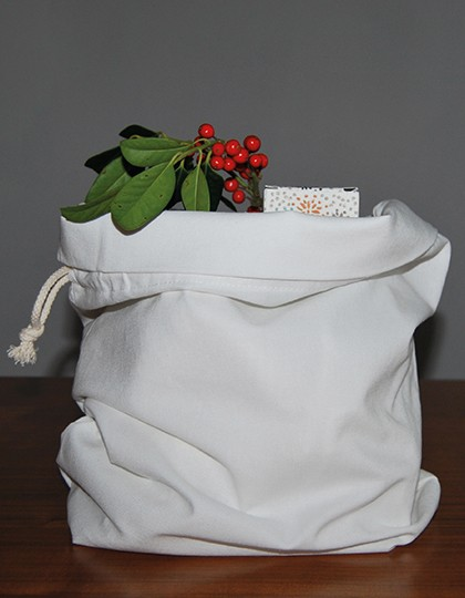 Slipper Bag Canvas - Bear Dream White
