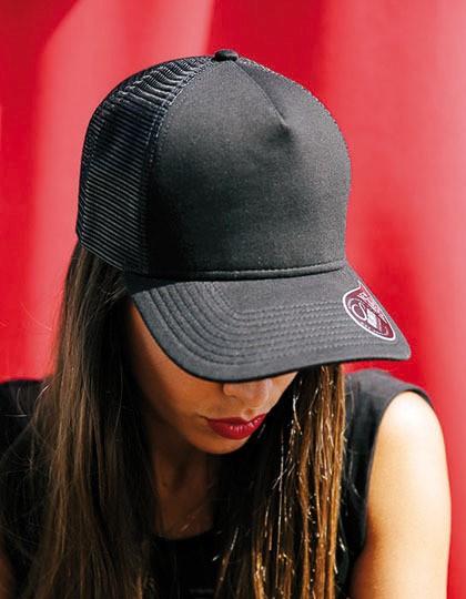 Rapper Jersey Cap - Caps - Netz- & Sport-Caps - Atlantis Burgundy