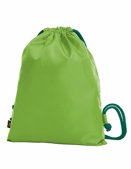 Taffeta Backpack Paint - Rucksäcke - Gymsacs - Turnbeutel - Halfar Apple Green - Green