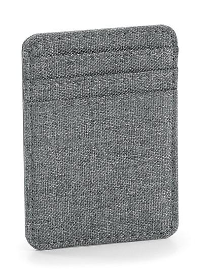 Essential Card Slip - BagBase Black