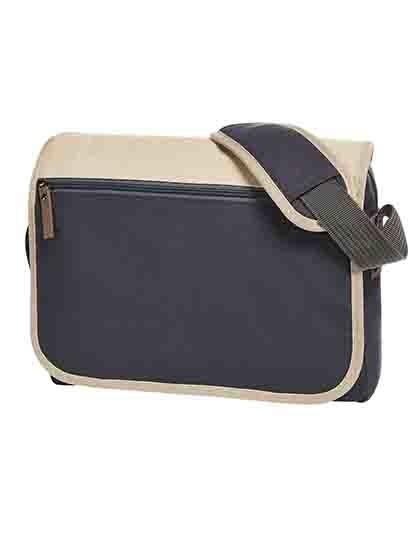 Shoulder Bag Journey - Freizeittaschen - Freizeit-Umhängetaschen - Halfar Beige - Dark Blue