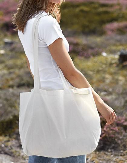 Shopping Bag with Gusset - Baumwoll- & PP-Taschen - Fairtrade Baumwolltaschen - Neutral Black