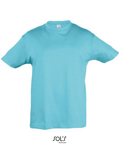 Kids` Regent 150 - Kinderbekleidung - Kinder T-Shirts - SOL´S Apple Green