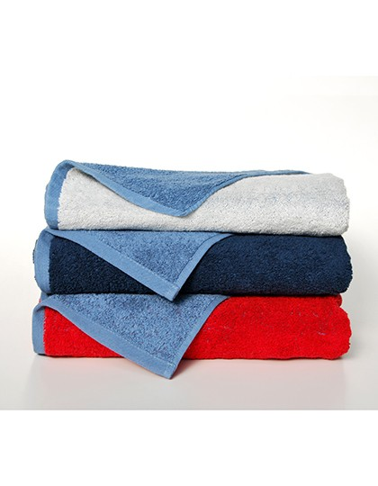 Double-Colour Maxi Bath Towel - Frottierwaren - Handtücher - Bear Dream