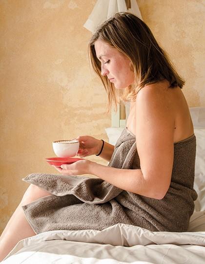 InFlame Bath Towel - Frottierwaren - Handtücher - Bear Dream Antique Grey (Charcoal Brown)