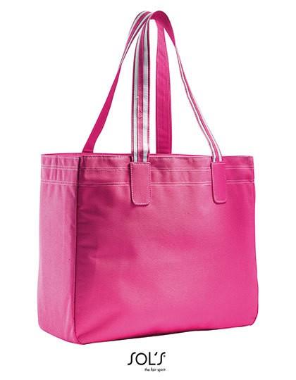 Shoppingbag Rimini - Freizeittaschen - Einkaufstaschen - SOL´S Bags Fuchsia - White